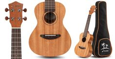 Head on over to Amazon.com where they are offering up this Donner Mahogany Concert Ukulele for only $53.50 shipped (regularly $120) when you enter promo code IRXQZGG8 at checkout.