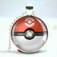 Become a Pokemon master with this epic Pokeball pendant necklace. Flask, Pendant Necklace, Accessories, Pokemon, Jewelry, Clothes, Shoes, Outfits, Jewlery