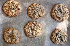 Oatmeal Walnut Chocolate Chip & Cocoa Nib Cookies- Joy the Baker