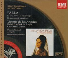La Vida breve [CD] de Manuel de Falla: Òpera en dos actes i quatre quadres estrenada en idioma francès al Casino Municipal de Niza, l'1 d'abril de l'any 1913.
