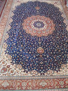 Qum Silk Persian Rug Retail Price: $65,000.00  You Save: CALL FOR DETAILS  Item#: Q1003  Category: Medium(6x9-8x11) Persian Rugs  Design:   Size: 200 x 300 (cm)      6' 6 x 9' 10 (ft)  Origin: Iran  Foundation: Silk  Material: Silk  Weave: 100% Hand Woven  Age: Brand New  KPSI: 900