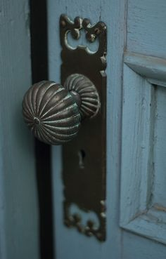 Vintage Door Knob, reminds me of Alice in Wonderland