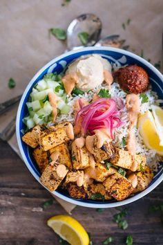Spicy Tofu Rice Bowl (CAVA copycat)