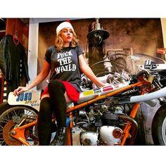 . British Motorcycles, Triumph Motorcycles, Biker, Holidays, Girls, Women, Birds, Woodland Forest, Triumph Bikes