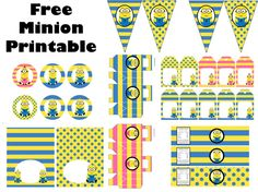free-despicable-me-yellow-pink-minon-party-PRINTABLE-ORIGINAL