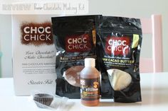 Review of Raw Chocolate Making Kit by Choc chick