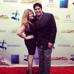 Yvette Morales, Gordon Vasquez, Backstage Movieguide Awards Gifting Suite