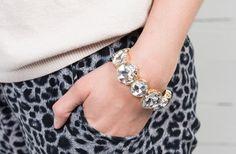 GroopDealz | Large Crystal Stretch Bracelet #groopdealz #crystal #bracelet