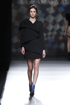 AA de Amaya Arzuaga. Invierno 2014/2015 Mercedes-Benz Fashion Week Madrid
