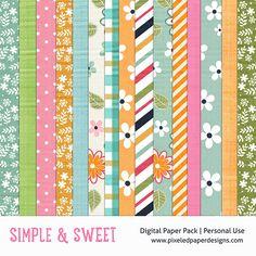 Free Digital Paper P