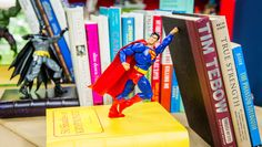 DIY Action Figure Bookends
