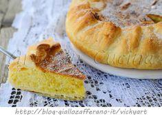 Torta greca con sfoglia e mandorle dolce veloce, dolce da merenda, colazione, idea veloce con pasta sfoglia, torta semplice ripiena, torta veloce, feste, buffet