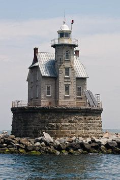 Race Rock Lighthouse- off of Fisher's Island, NY. Very close to where I live in Connecticut, a lot of people who live on Fisher's Island take the ferry into New London, CT so that they can do their shopping at big name stores in Groton or New London.
