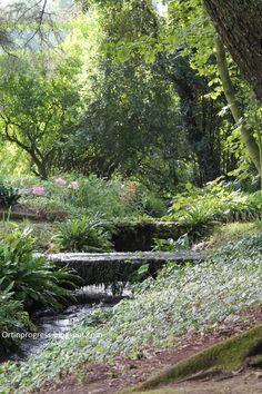 Giardino di Ninfa - sistema di irrigazione