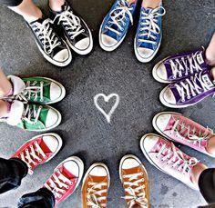 Comfy colorful Converse!
