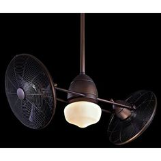 42 Minka Gyro Wet Oil Rubbed Bronze Ceiling Fan