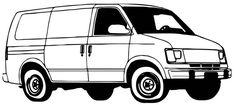 7 Ide 8 Best Van Minibus Coloring Pages