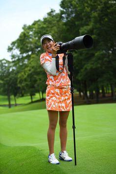 原 英莉花 Golf Player, Lpga, Ladies Golf, Asian Woman, Athlete, Tights, Female, Cute, Sports