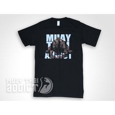 Kevin Ross Black Wai Khru T-Shirt – Muay Thai Addict