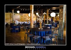 Elegant Decorations for a Wedding at The Foundry