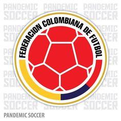 Seleccion Colombia Futbol Cafeteros Vinyl Sticker Decal