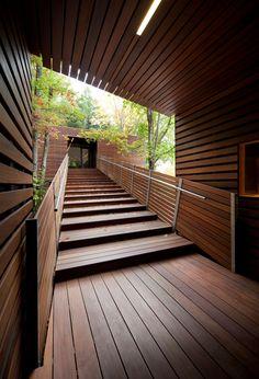 Galería de Balnea Pavillon des arbres / Blouin Tardif Architecture-Environnement…