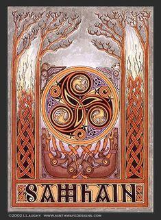Samhain. Summer's end, supernatural. Ritual De Samhain, Beltane, Rituel Samhain, Origin Of Halloween, Irish Halloween, Blessed Samhain, Samhain Halloween, Halloween Ghosts, Halloween Pics
