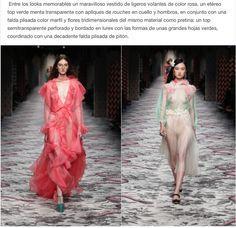 #MFW Mi review del desfile Gucci Women's #SS2016 en mi blog MoodboardMuse.