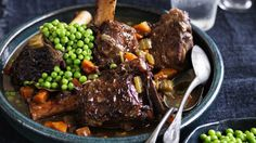 Neil Perry's Twice-cooked veal shanks.