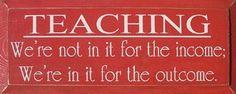 teaching..