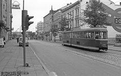 .Ulica Dworcowa. 26 maja 1974 roku.    Copyright www.tog-billeder.dk