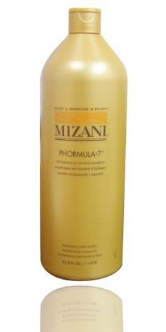❤️ Mizani Phormula 7 Neutralizing and Chelating Shampoo formulated to remove any remaining relaxer   This dual-purpose, post relaxer shampoo is formulated to remove any remaining relaxer or mineral deposits from the hair while the protein conditioner helps restore moisturization during chemical services.   Disodium EDTA : Removes excess ions and mineral deposits from the hair Hydrolyzed Wh...