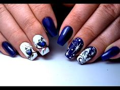 (404) Самый Крутой Зимний Дизайн Ногтей | The Coolest Winter Nail Design - YouTube
