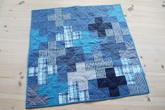 StyleDesignCreate: Plus one patchwork babytæppe