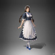Dynasty Warriors, Warriors Game, Warrior Girl, Character Modeling, Fantasy World, Yandere, Fantasy Characters, Character Design, Ballet Skirt