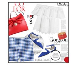 Colors for July 4th by youaresofashion on Polyvore featuring polyvore fashion style Madewell J.Crew ALDO Anja clothing redwhiteandblue july4th
