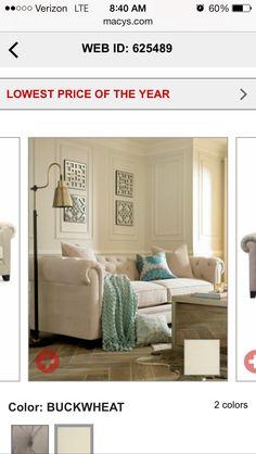 Martha Stewart Collection Saybridge Sofa - Furniture - Macy\'s ...
