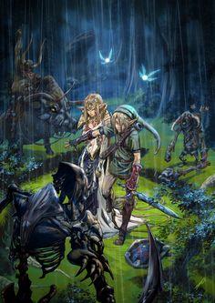 The Legend of Zelda - Trouble by ~tommasorenieri