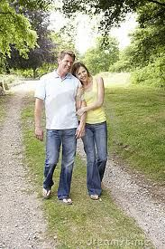 middle age couple walking - Google Search