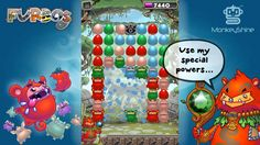Furbos Trailer 01 Puzzle Action from Monkeyshine Studios! I Am Game, Google Play, Puzzle Games, App, Holiday Decor, Frame, Kids, Studios, Samsung