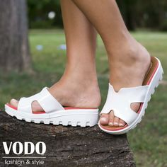 Дамски чехли от vodo.bg