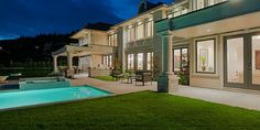 $11.6 Million Newly Built Mansion in West Vancouver, BC