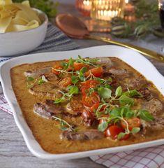 Italian pork fillet gratin – World Food Pork Recipes, Vegetarian Recipes, Cooking Recipes, Healthy Recipes, Cooking Videos, Food For The Gods, Pork Fillet, Tasty Videos, Aesthetic Food