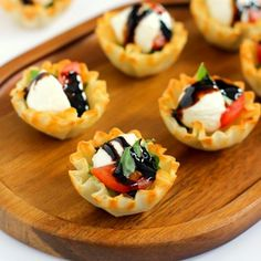 These Caprese Cups are a delicious bite-sized appetizer that will be the hit of your next party!
