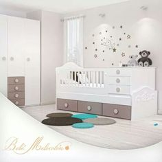 Baby Boy Rooms, Baby Bedroom, Baby Room Decor, Baby Cribs, Small Space Nursery, Wishes For Baby, Kids Room Design, Kid Beds, Kids Furniture