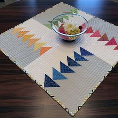 The November Block of the Month is a nice take on Flying Geese designed by Sharon McConnell of Color Girl Quilts, which she titled ...