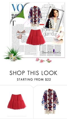 """Vogue with Beautifulhalo :) :)"" by fashion-weeks-on ❤ liked on Polyvore featuring bhalo"