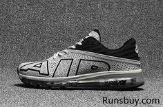 43fd54e9 New Coming Nike Air Max 2017.9 Black Gray KPU Men (40-47) Discount