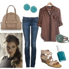 casual Friday. TGIF!!! :), created by tigerwoman37086 on Polyvore