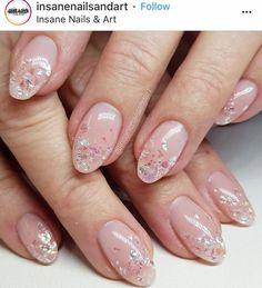 What Christmas manicure to choose for a festive mood - My Nails Wow Nails, Pink Nails, Cute Nails, Pretty Nails, Fancy Nails, Bridal Nails, Wedding Nails, Unicorn Nails, Japanese Nails